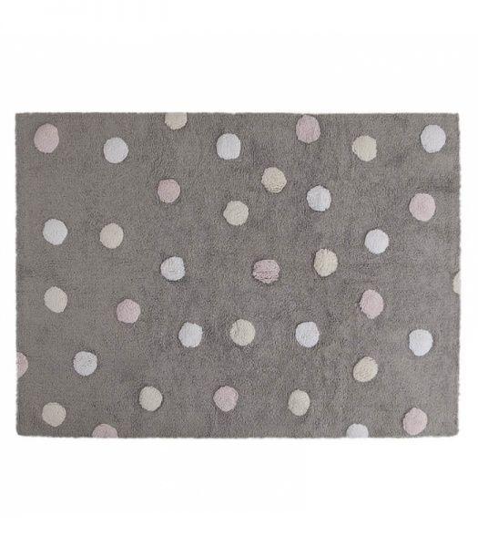 Lekkere gulvtepper fra Spanske Lorena Canals. Disse flotte tepper vil sette prikken over i en på barnerommet. Lekre mønster og farger. Fantastisk kvalitet. Teppene er vaskbare og du kan vaske det selv i din egen vaskemaskin. Håndlaget i 100% bomull. Oppfyl