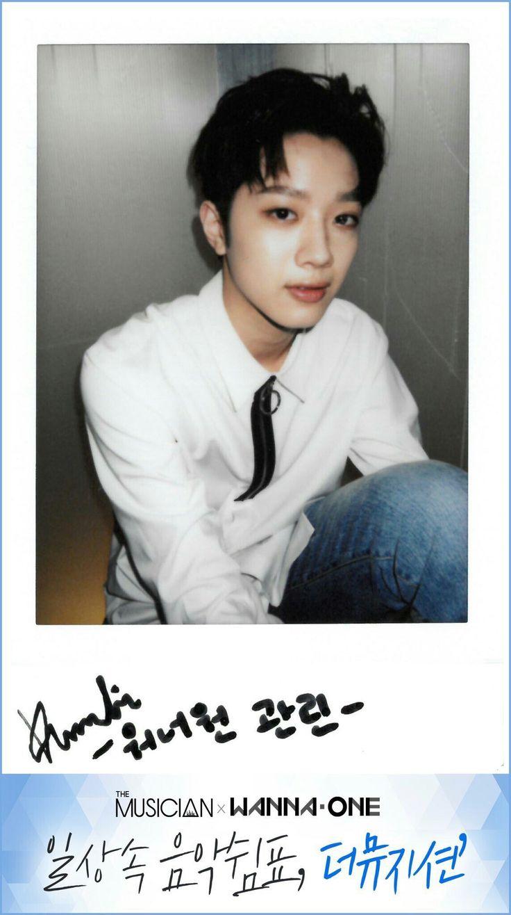 Wanna One x The Musician Polaroids - Lai Guanlin