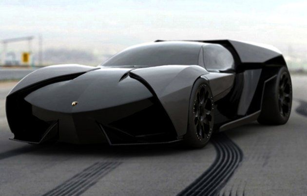 Lamborghini Ankonian. Designed by designer extraordinaire Slavche Tanevsky, the Ankonian is a mid-engine concept sports car modeled after a stealth fighter jet. According to Tanevsky, the 640hp Ankonian is a more aggressive version of the super limited Lamborghini Reventón.  http://www.tradingprofits4u.com/