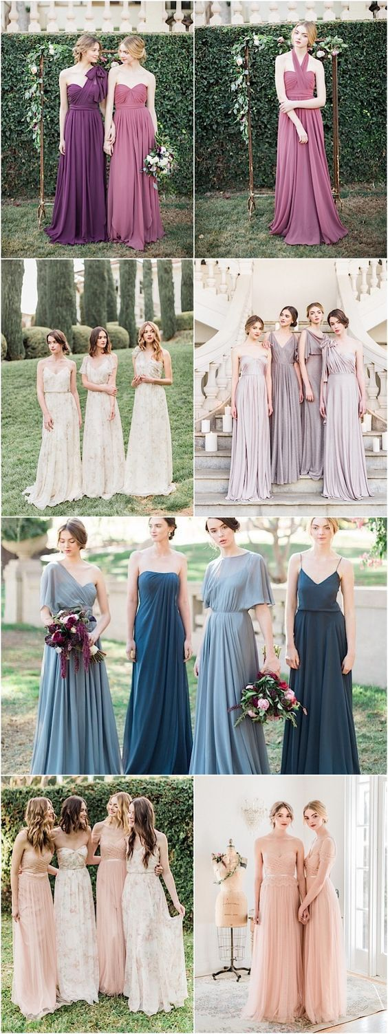 Jenny Yoo bridesmaid dresses and gowns