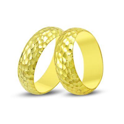 Buse Jewellery - 14K Gold Fantasy Wedding Band Ring
