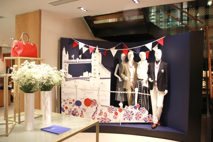 DAKS Diamond Jubilee window