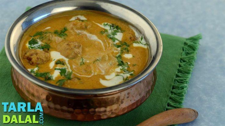 Spicy Kofta Kadhi by Tarla Dalal