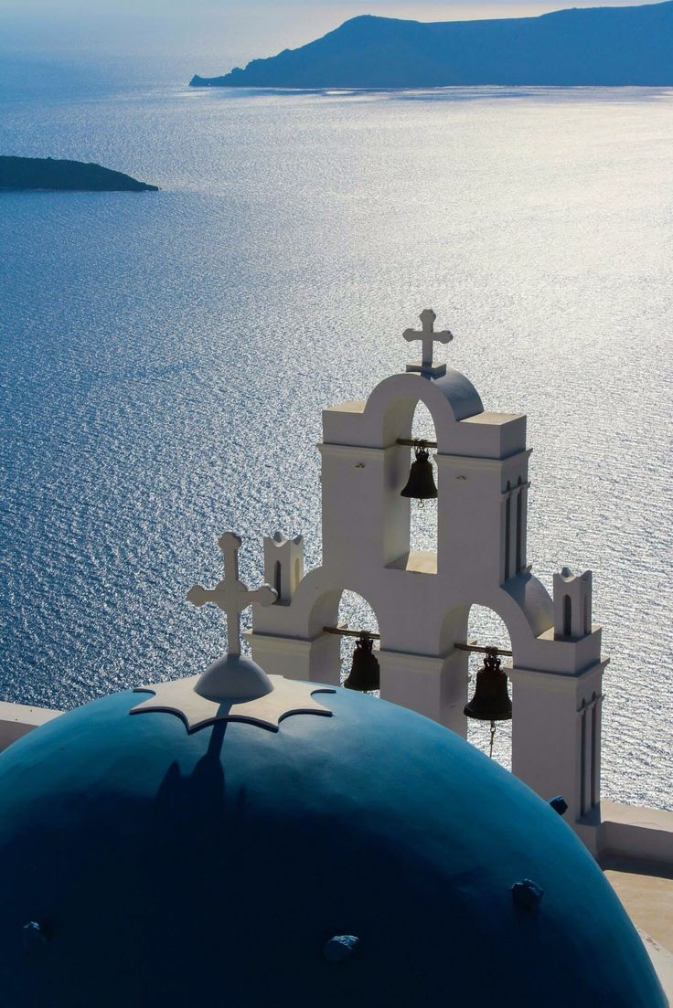 Firostefani village, Santorini island, Greece. - selected by www.oiamansion.com