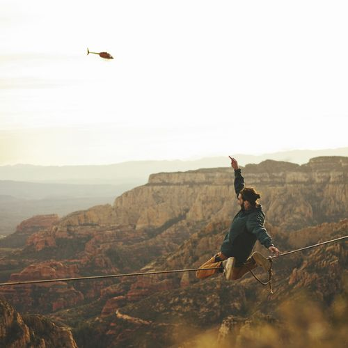 Jump, and you will find out how to unfold your wings as you fall. -Ray Bradbury