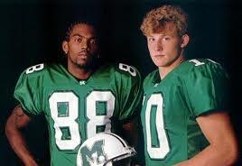 Randy Moss & Chad Pennington