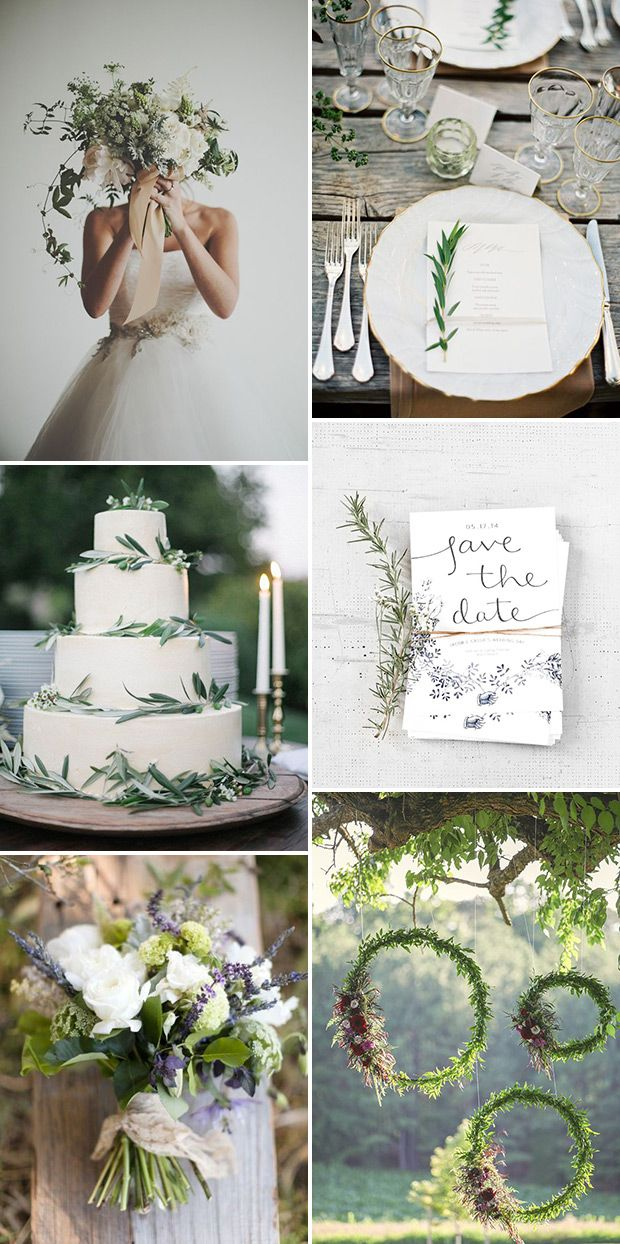 Pared Back Beauty Trend | See more wedding inspiration at www.onefabday.com