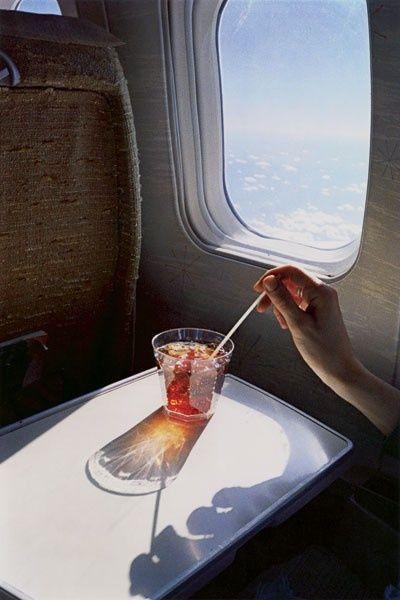 Untitled (Glass in Airplane) William Eggleston, from the Los Alamos Portfolio, 1965-74