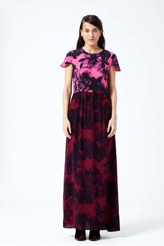Shakuhachi Petal Press Cap Sleeve Maxi Dress – Eclectic Ladyland