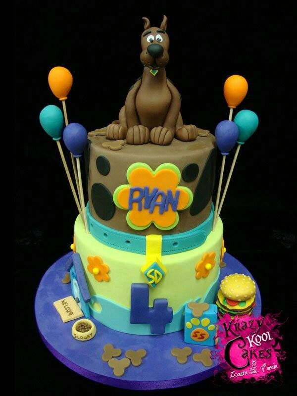89 Best Scooby Doo Cakes Images On Pinterest Scooby Doo