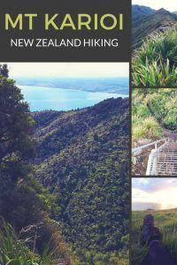 Mt Karioi, New Zealand hiking