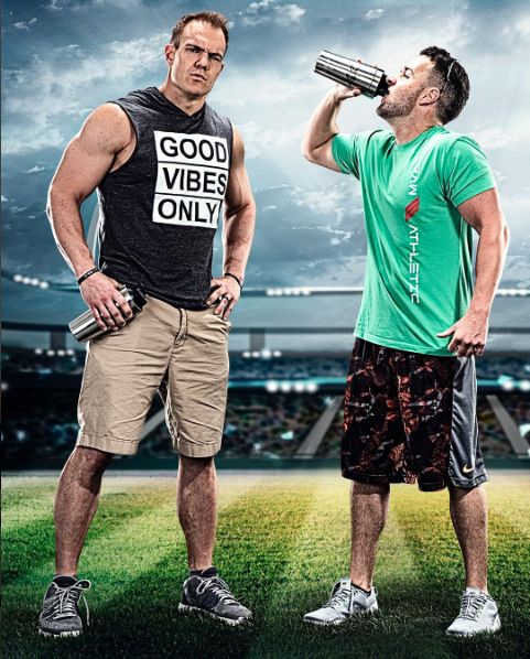 The Best Stainless Steel Protein Shaker Mixer Bottle! Keeps cold for over 30 hours! Does not absorb odor! Does Not sweat! Created and owned by Chris Gronkowski, Former NFL player.  Its time to upgrade your shaker bottle!