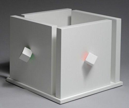 Luis Tomasello | Cube atmosphére chromoplastique