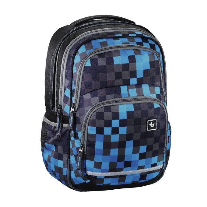 All Out Blaby školní batoh Blue Pixel | Školní aktovky a batohy |4baby.cz - dětské oblečení a potřeby pro děti