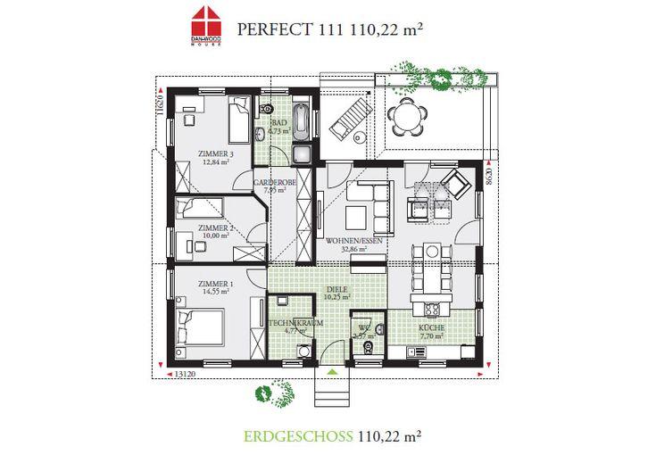 Pin Von Angelika Sz Auf Bungalow: DAN-WOOD House Schlüsselfertige Häuser