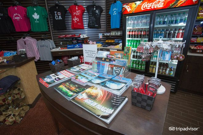 Our gift shop is also stocked with snacks and beverages for all cravings.