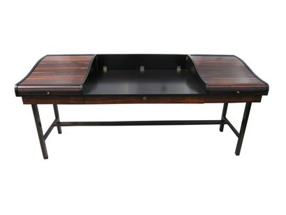 Machine Age | Executive Roll Top Desk by Edward Wormley ...