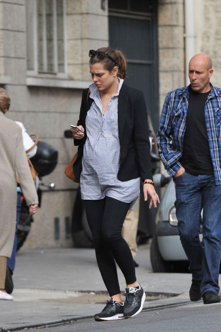beautifulcharlotte:  Charlotte Casiraghi was seen strolling in Paris