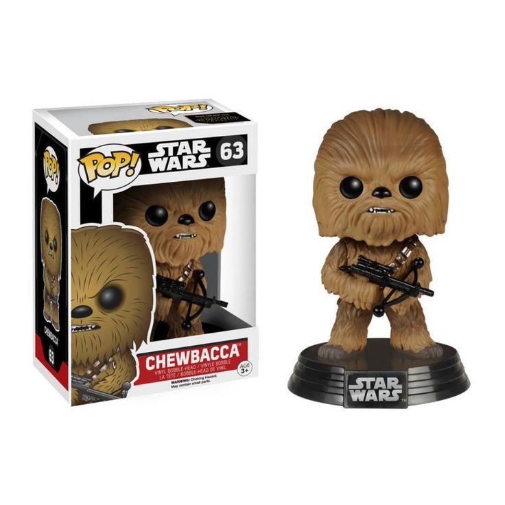Figurine POP Bobble head Star Wars EP7 Chewbacca