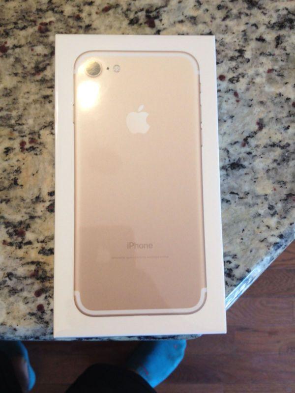 Apple iPhone 7 (Latest Model) - 128GB - Gold (ATT Unlocked) Smartphone - http://phones.goshoppins.com/iphones/apple-iphone-7-latest-model-128gb-gold-att-unlocked-smartphone/