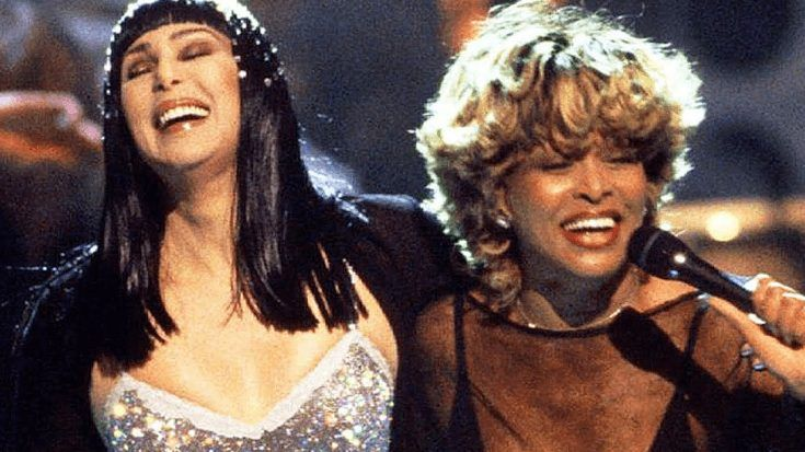 """Flashback To That Time Cher And Tina Turner Danced It Up To """"Proud Mary"""" On Live Television"""