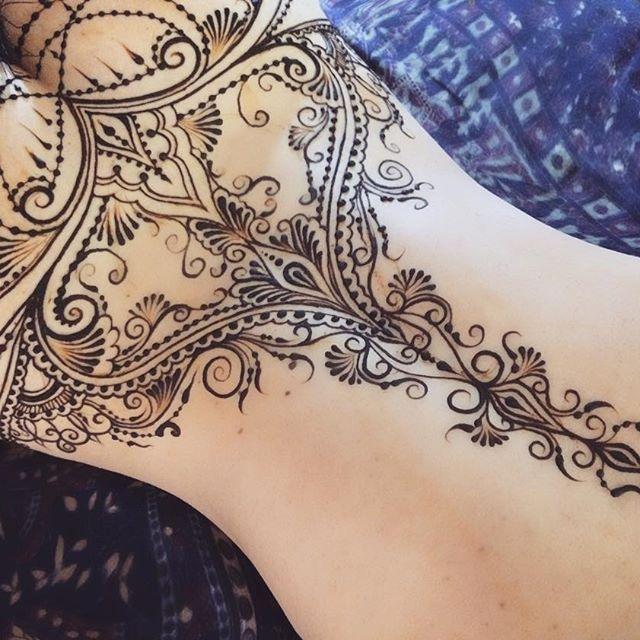 Henna Tattoo Chest: Best 25+ Henna Chest Ideas Only On Pinterest