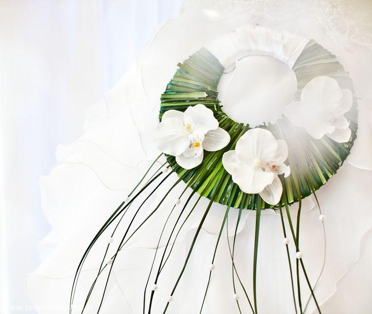 bukiet ślubny w innym wydaniu