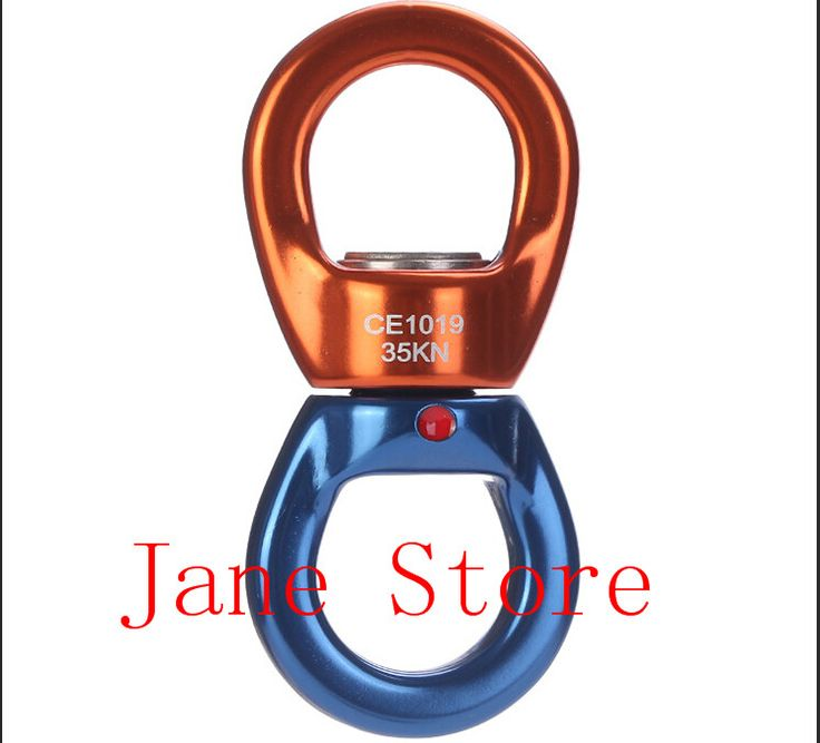 Восхождение Оборудование сейчас Продавать Поворотный Ротор Крюк Поворотный Кольцо Для Свойства Коннектора Мнлз Поворотный Разъем для Скалолазания КН