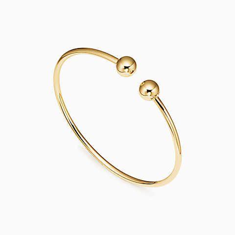 3c2ef55eb Tiffany HardWear ball wire bracelet in 18k gold, medium. | jewelry ...
