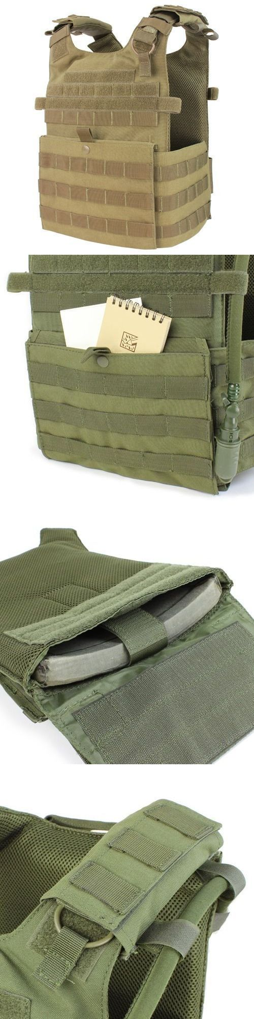 Chest Rigs and Tactical Vests 177891: Condor 201039 Tan Gunner Lightweight Plate Carrier Molle Padded Minimalist Vest -> BUY IT NOW ONLY: $59.99 on eBay!
