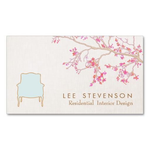 297 best Interior Designer Business Cards images on Pinterest ...
