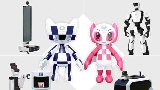 Toyota reveals full line-up of support robots for 2020 Olympics