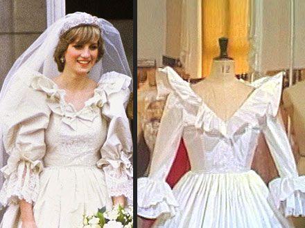 Princess Dianas Spare Wedding Dress Revealed