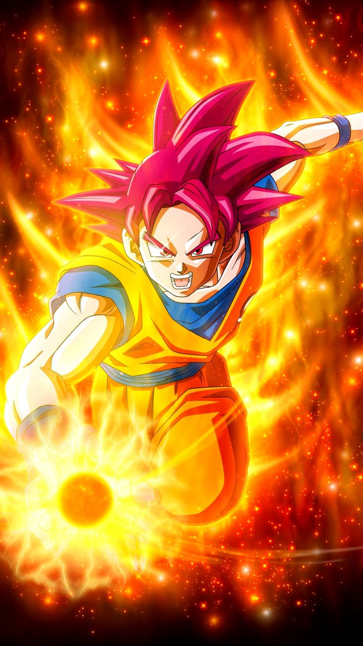 Wallpaper 4K Iphone 6 Plus Trick Dessin goku, Fond d