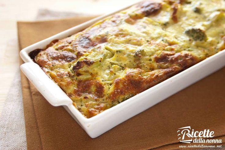 Lo sformato di broccoli è un piatto versatile e gustoso che potrete servire come antipasto tagliato a fette o dadoni come secondo piatto magari arricchito da fette di prosciutto cotto aggiunto a fine cottura o come contorno di un secondo di carne o di pesce.
