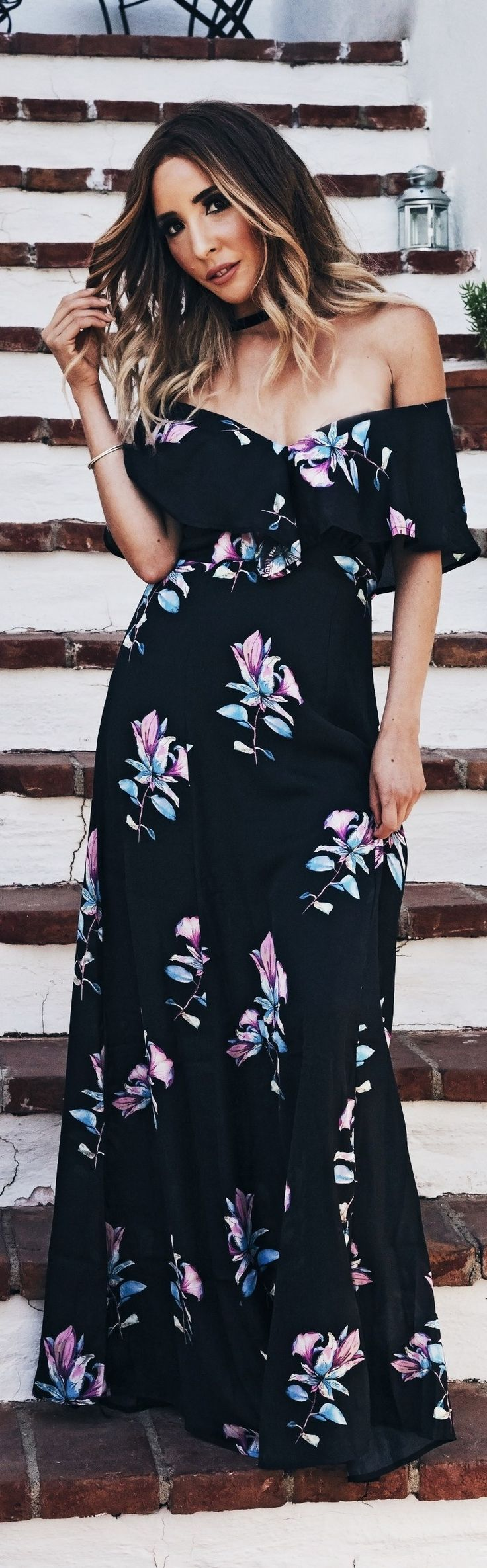 Floral Maxi // Fashion Trend by Haute Instinct