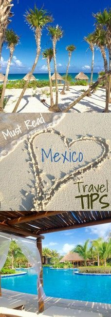 Travel tips for your next beach vacation to Mexico. Read these before you start packing for your trip!