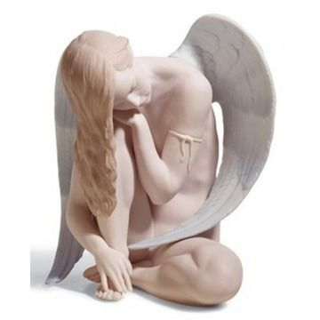 Figurka - Cudowny anioł Lladro Angel porcelain figurine