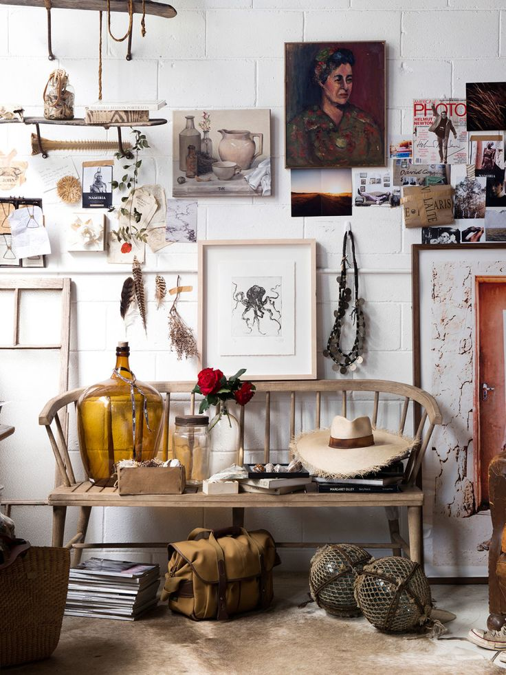Detail from the Brisbane studio of stylist, photographer and storyteller Kara Rosenlund. Photo – Mindi Cooke for The Design Files.