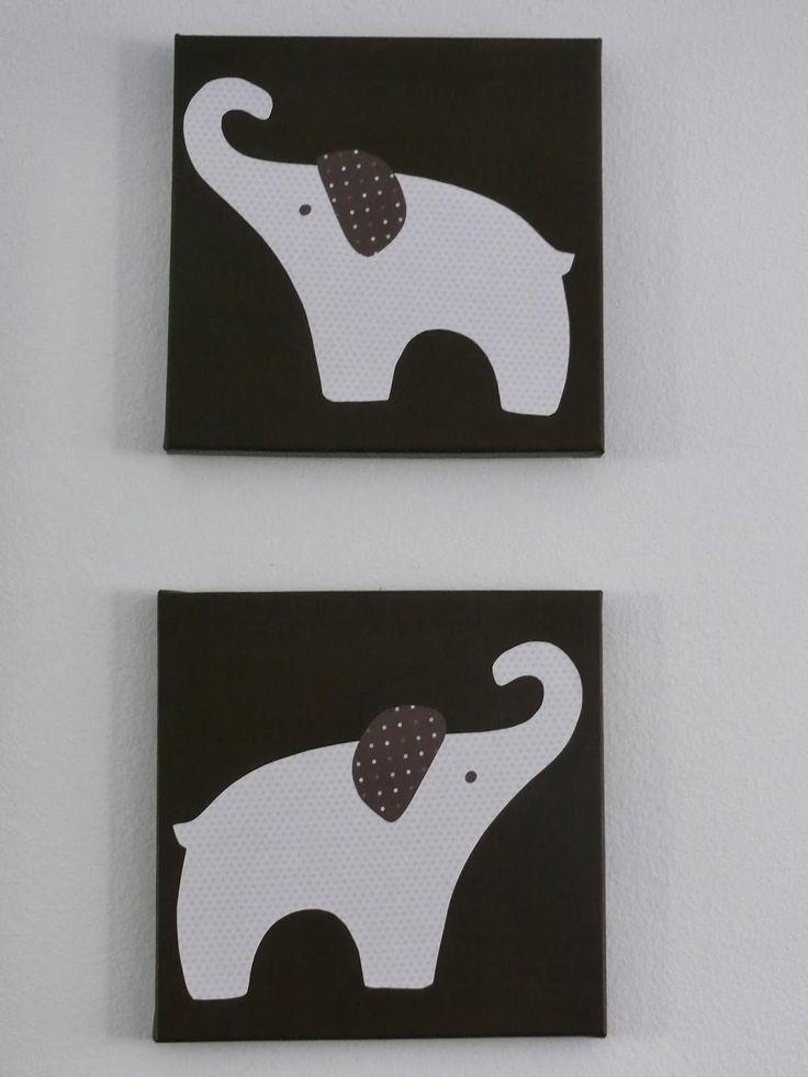 24 best images about nursery on pinterest gel medium for Elephant design hotel 4