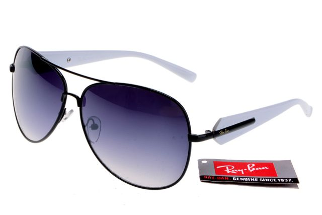 Ray-Ban Active Lifestyle 58012 White Black Frame Gray Lens RB1290 [RB-1313] - $14.80 : Cheap Sunglasses,Cheap Sunglasses On sale