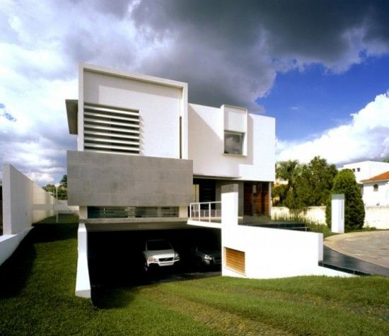 Modern Home Garage Design Ideas | Concrete Houses, Basements And Minimalist