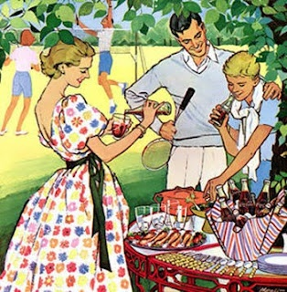 Barbecues have been in style for decades.