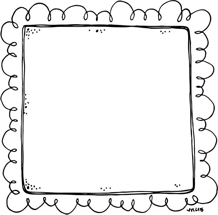 Border or Frame for newsletters, announcements