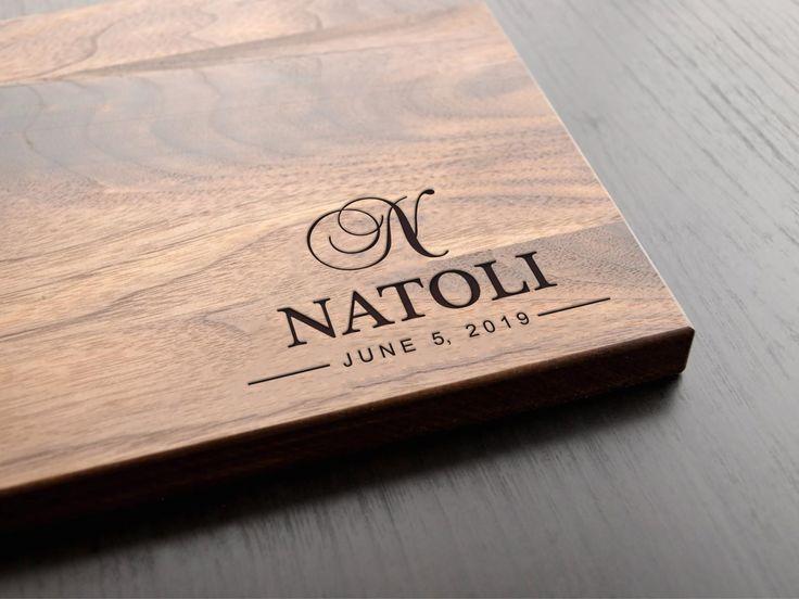 Personalized Cutting Board, Anniversary Gift, Bridal Shower Gift, Wedding Gift, Housewarming Gift, Wedding Shower Gift, Christmas Gift