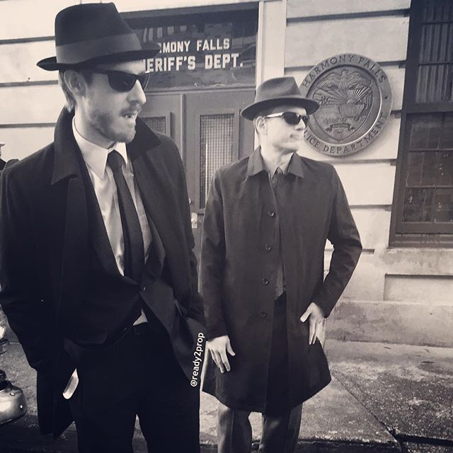 My boys Rip Hunter & Captain Cold! #dclegendsoftomorrow