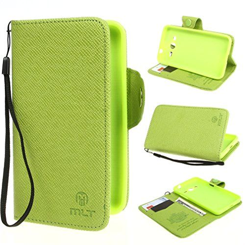 "ivencase Button Magnetic Style Wallet PU Leather Case Cover for Samsung Galaxy Core II ( 4.5 inch ) / SM-G355H Green + One ""ivencase "" Anti-dust Plug Stopper ivencase http://www.amazon.com/dp/B00NLZIQOI/ref=cm_sw_r_pi_dp_KDfJub0S33E98"