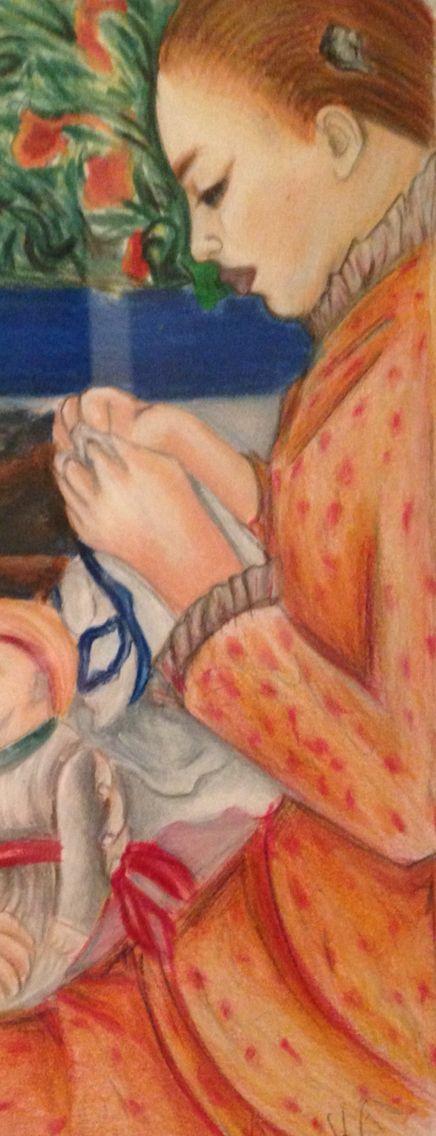 """Particolare """"La mamma che ricama"""" - Anna Stile Jewels"""