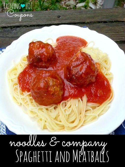 Copycat Noodles & Company Spaghetti and Meatballs Recipe