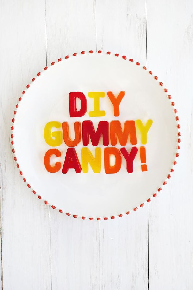 Make Your Own Gummy Candy! | A Beautiful Mess | Bloglovin
